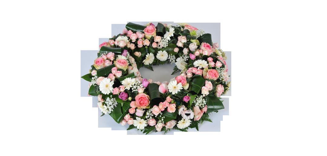 Fleuriste lors d'un décès