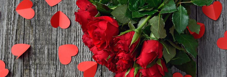 bouquet de Saint Valentin