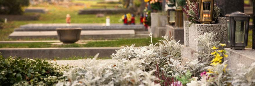 types de fleur pour un enterrement